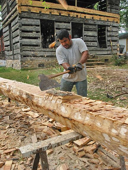 Log House Restoration