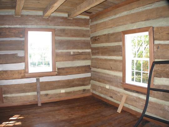 Jacob Loesch House Restoration Restoration Original